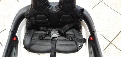 Accu Auto ACTIE Jaguar F-TYPE SVR Wit 12V Deuren 2.4G Rubber Banden-5