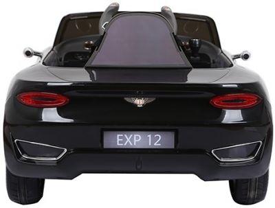Accu Auto BENTLEY EXP12 Zwart 12V 2,4G Leder Rubber Banden-3
