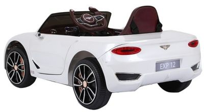 Accu Auto BENTLEY EXP12 Wit 12V 2,4G Leder Stoel Rubber Banden-2