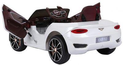 Accu Auto BENTLEY EXP12 Wit 12V 2,4G Leder Stoel Rubber Banden-1