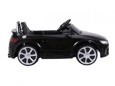 Accu Auto Audi TTRS Zwart 12V Lederen Stoel Rubber Banden-2