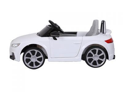 Accu Auto Audi TTRS Wit 12V Lederen Stoel Rubber Banden-3