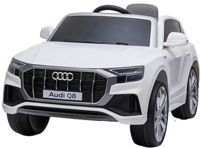 Accu Auto AUDI Q8 Wit 12V 2,4G Deuren Rubber Banden