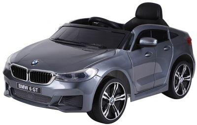 Accu Auto BMW 6-Serie GT Grijs Metallic 12V 2.4G Rubber Banden