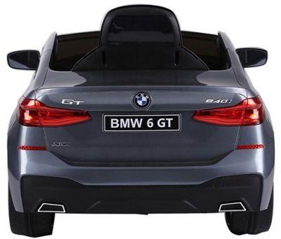 Accu Auto BMW 6-Serie GT Grijs Metallic 12V 2.4G Rubber Banden-2