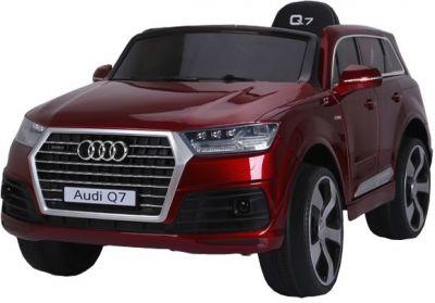 Accu Auto AUDI Q7 Rood Metallic 12V Deuren Rubber Banden