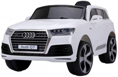 Accu Auto AUDI Q7 Wit 12V Deuren, Rubber Banden