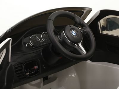 Accu Auto BMW X6M 1 pers. Wit 12V 2.4G Rubber Banden-3