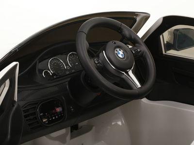 Accu Auto BMW X6M 1 Pers. Zwart Metallic 12V 2.4G Rubber Banden-3