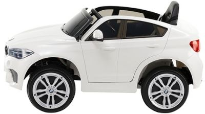 Accu Auto BMW X6M 1 pers. Wit 12V 2.4G Rubber Banden-2