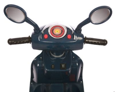 Accu Scooter Mulan Donker Blauw 6V -3