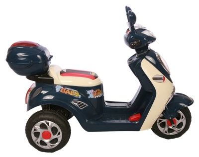 Accu Scooter Mulan Donker Blauw 6V -5