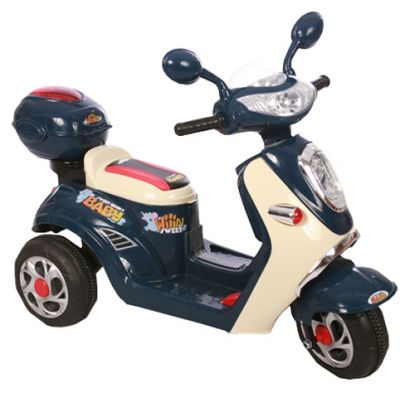 Accu Scooter Mulan Donker Blauw 6V