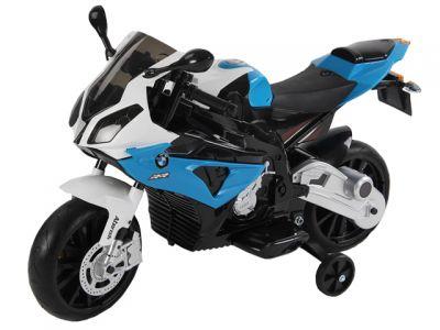 Accu Motor BMW S1000RR Blauw 12V Rubberen Banden
