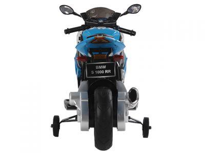 Accu Motor BMW S1000RR Blauw 12V Rubberen Banden -1