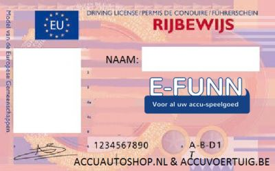 Kenteken stickerset NL op eigen naam & Rijbewijs-1