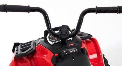Accu Quad Venom Zwart 12V Leder rubber banden 2,4G Afst. Bed. -3