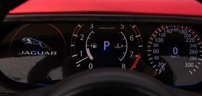 Accu Auto Jaguar F-PACE S Zwart Metallic 12V Deuren 2.4G Rubber banden-4