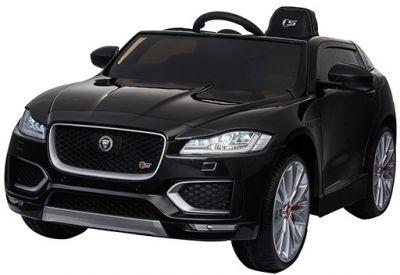 Accu Auto Jaguar F-PACE S Zwart Metallic 12V Deuren 2.4G Rubber banden