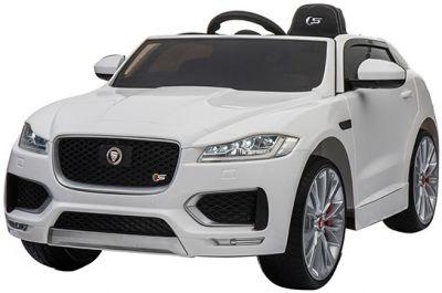 Elektrische Kinderauto Jaguar F-PACE S Wit