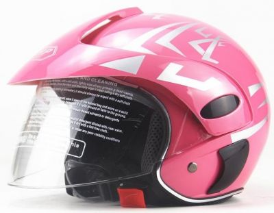 Scooter Helm Roze -2