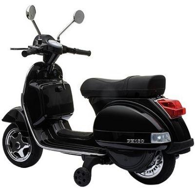 Accu Vespa PX150 Scooter 12V Zwart Rubber Banden -2