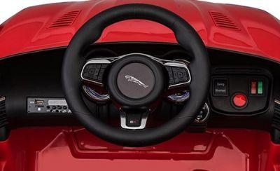 Accu Auto ACTIE Jaguar F-TYPE SVR Wit 12V Deuren 2.4G Rubber Banden-4