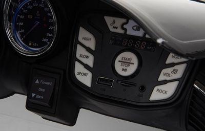 Accu Auto ACTIE Jaguar F-TYPE SVR Blauw Metallic 12V Deuren 2.4G Rubber Banden-3