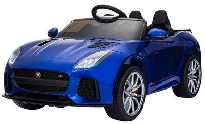 Accu Auto ACTIE Jaguar F-TYPE SVR Blauw Metallic 12V Deuren 2.4G Rubber Banden