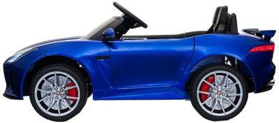Accu Auto ACTIE Jaguar F-TYPE SVR Blauw Metallic 12V Deuren 2.4G Rubber Banden-1