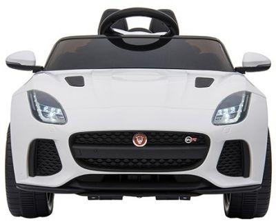 Accu Auto ACTIE Jaguar F-TYPE SVR Wit 12V Deuren 2.4G Rubber Banden