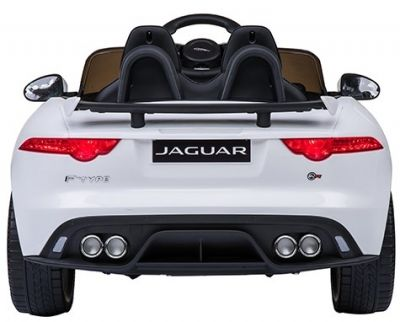 Accu Auto ACTIE Jaguar F-TYPE SVR Wit 12V Deuren 2.4G Rubber Banden-2