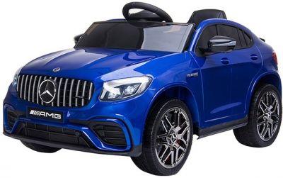 Elektrische Speelgoedauto MERCEDES GLC63-AMG MP4 Blauw Metallic