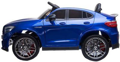Accu Auto MERCEDES GLC63-AMG MP4-Scherm Blauw Metallic Rubber Banden-1