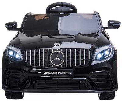 Accu Auto MERCEDES GLC63-AMG MP4-Scherm Zwart Metallic Rubber Banden