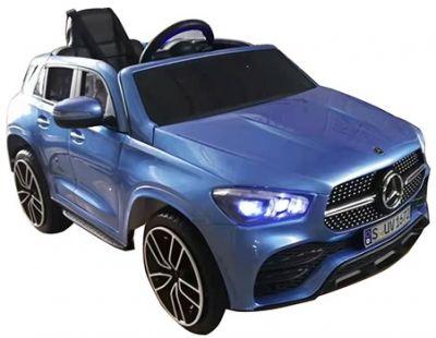Elektrische Kinderauto MERCEDES GLE 450 Blauw metallic