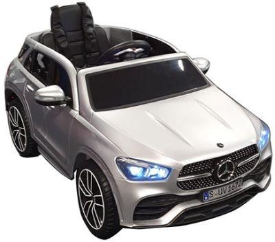 Kinder Accu Auto MERCEDES GLE 450 Zilver Grijs metallic