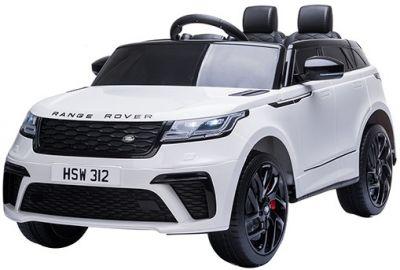 Elektrische Speelgoedauto SUV Range Rover Velar Wit