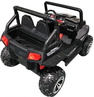 Accu Auto Cross Country XL 4X4  Zwart 2 Persoons-3