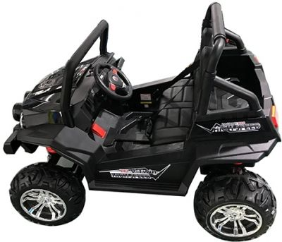 Accu Auto Cross Country XL 4X4  Zwart 2 Persoons-2