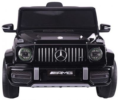 Accu Auto Mercedes G63 AMG Zwart metallic 12V 2,4G Rubber Banden