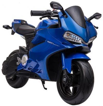 Accu Motor Diablo Blauw 24V 250Watt Rubber Banden Schijfremmen