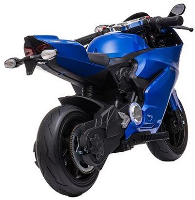Accu Motor Diablo Blauw 24V 250Watt Rubber Banden Schijfremmen -2