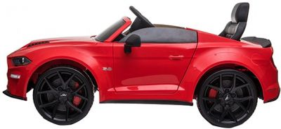 Accu Auto Ford Mustang GT Drift 24V Rood 2,4G Mp4 Rubber Banden-1