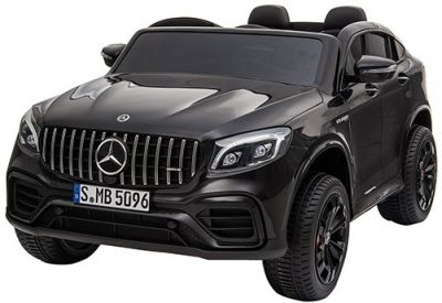 Accu Auto MERCEDES GLC63-AMG 4X4 MP4 Scherm Zwart Metallic 2 Persoons