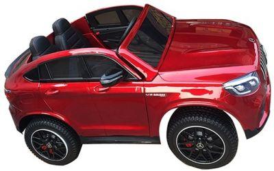 Accu Auto MERCEDES GLC63-AMG 4X4 MP4 Scherm Rood Metallic 2 Persoons-1