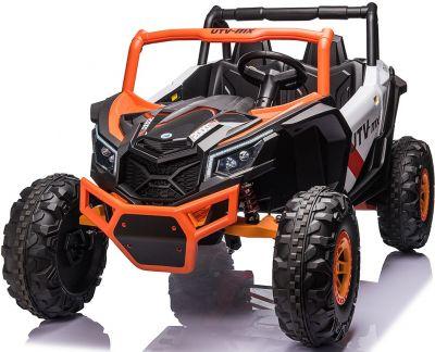 Elektrische Kinderauto Mega Buggy 4X4 24 Volt 2 Persoons Oranje MP4