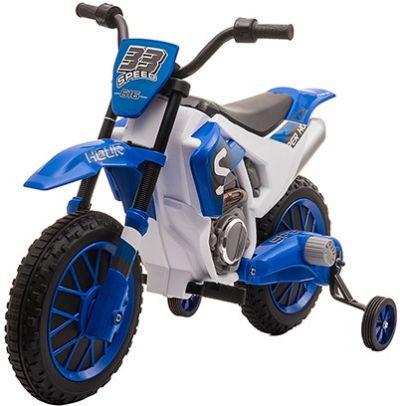 Elektrische Kindermotor Cross Bike Rally Blauw 12Volt
