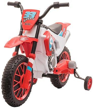 Accu Motor Kind Cross Bike Rally Rood 12 Volt